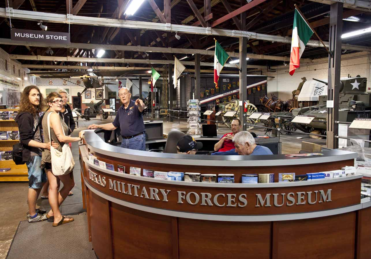 Texas Travel - Military museums in us